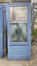 nr. A208b buitendeur dubbel glas