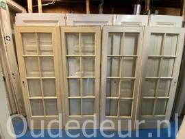 nr. set889 oude ruitjes deuren sets