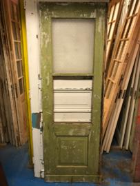 nr. 2186 antieke deur met glas