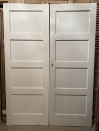 Oude paneeldeur jaren 30 -nr. 39- ( vele maten, vele stuks) , bruynzeel deur