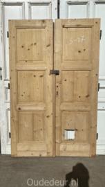 nr. set441 antieke geloogde deuren