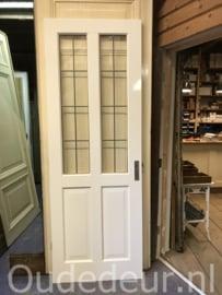 nr. GL546 grote glas in lood deur