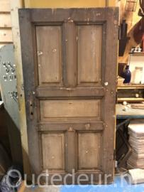nr. 1377 antieke deur met staal