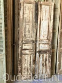 nr.set631 stel geloogde oude deuren
