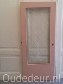 nr. gl336 deur met geetste ruit