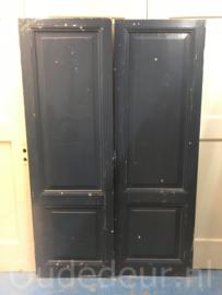 nr. 1W twee antieke kastdeuren