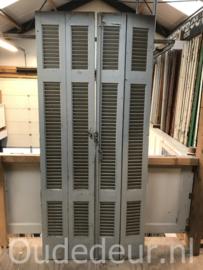 nr. L407 set oude louvre deuren