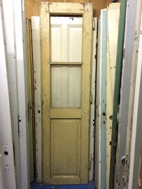 nr. 298 oude paneeldeur met glas