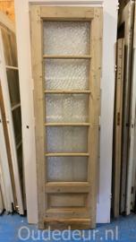 nr. 1493 oude glasdeur geloogd