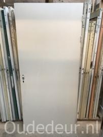 nr. 1163 deur met een vlakke kant