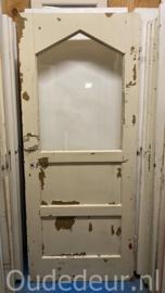 nr. 2409 oude deur met glas