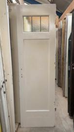 nr. 74a Oude tweevlaks paneeldeuren met glas