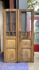 nr, set542 set oude glasdeuren