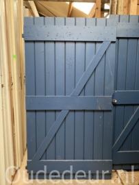 nr. 4476G opgeklampte deur