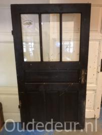 nr. 1364 antieke deur met glas