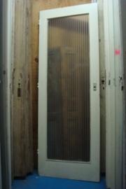 nr. 215 oude deur met groot glas