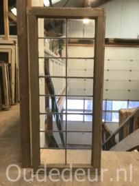 nr. GL441 oude glas in lood raam