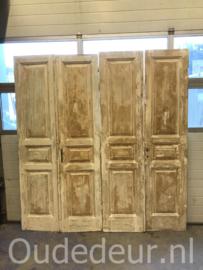nr. set712 twee gelijke sets oude deuren