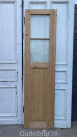 nr. 1459 antieke geloogde deur, 2 ruitjes
