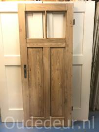 nr. 1064 geloogde antieke deur, zonder glas