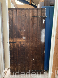 nr. 4476A opgeklampte deur