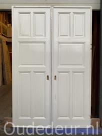 nr. e412 set dichte grote ensuite deuren