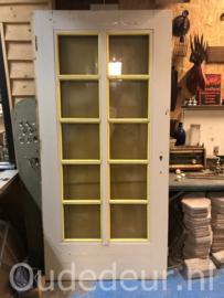 nr. 1383 brede grenen deur met ruiten