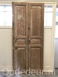 nr. set639 stel antieke deuren geloogd