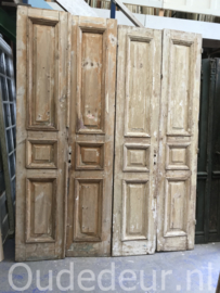 nr. set813 twee sets vintage deuren