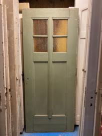 nr. 1291 stevige oude schooldeur
