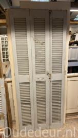 nr. L162 set van drie oude louvre deuren