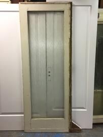 nr. 2118 enkele schuifdeur met glas