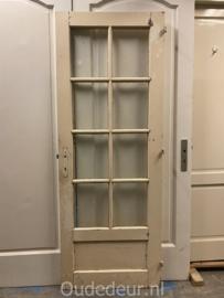 nr. 2326 deur met 8 ruitjes en paneeltje