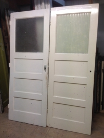 nr. 8b jaren 30 deur met bovenlicht