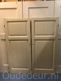 nr. 1AA twee gelijke lage kastdeuren