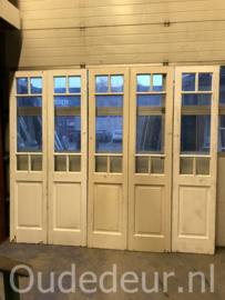 nr. set676 serie gelijke sets glasdeuren