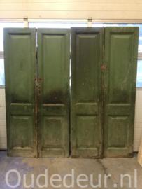 nr. set927 sets groene deuren