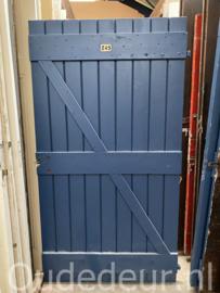 nr. 4476D opgeklampte deur