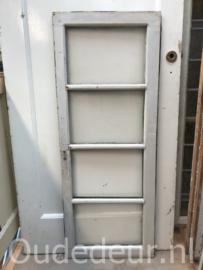 nr. r205 oude raam met vier ruiters