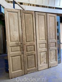 nr. set 468 dubbele antieke deuren, 2 sets