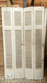 nr. L556 setje oude louvre deuren