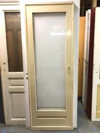 nr. 2200 originele jaren '30 schuifdeur met grote ruit