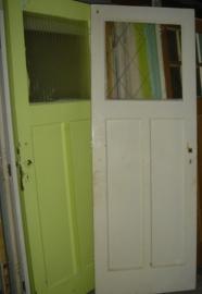 nr. 11 paneeldeuren / binnendeur  (vele stuks)