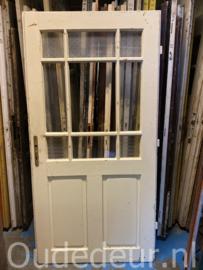 nr. 1395  brede glas deur