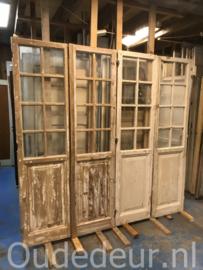 nr. set835 vijer gelijke sets oude deuren