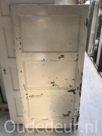 nr. 4280 lage deur met drie panelen