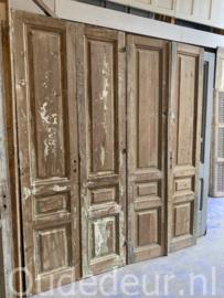 nr. set577 vijf gelijke sets oude deuren