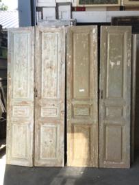 nr. set975 4 sets oude antieke deuren
