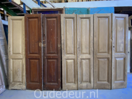 nr. set 471 serie antieke dubbele deuren (nog 3 deuren)