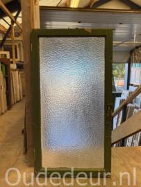 nr. r274 eenvoudige mat glas raam